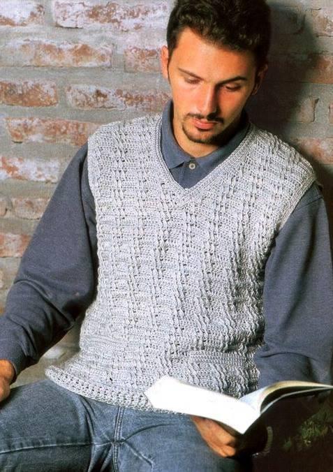 Todo para Crear ... : Para los hombres de la casa en crochet ...