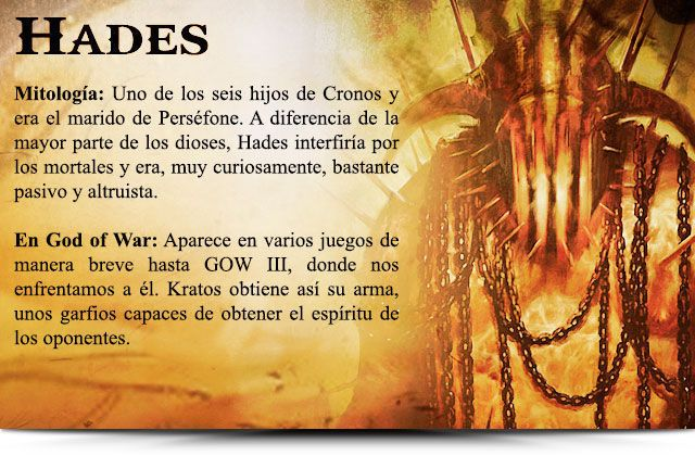Dios del infierno dioses del olimpo pinterest mythology for God of war 3 jardines del olimpo