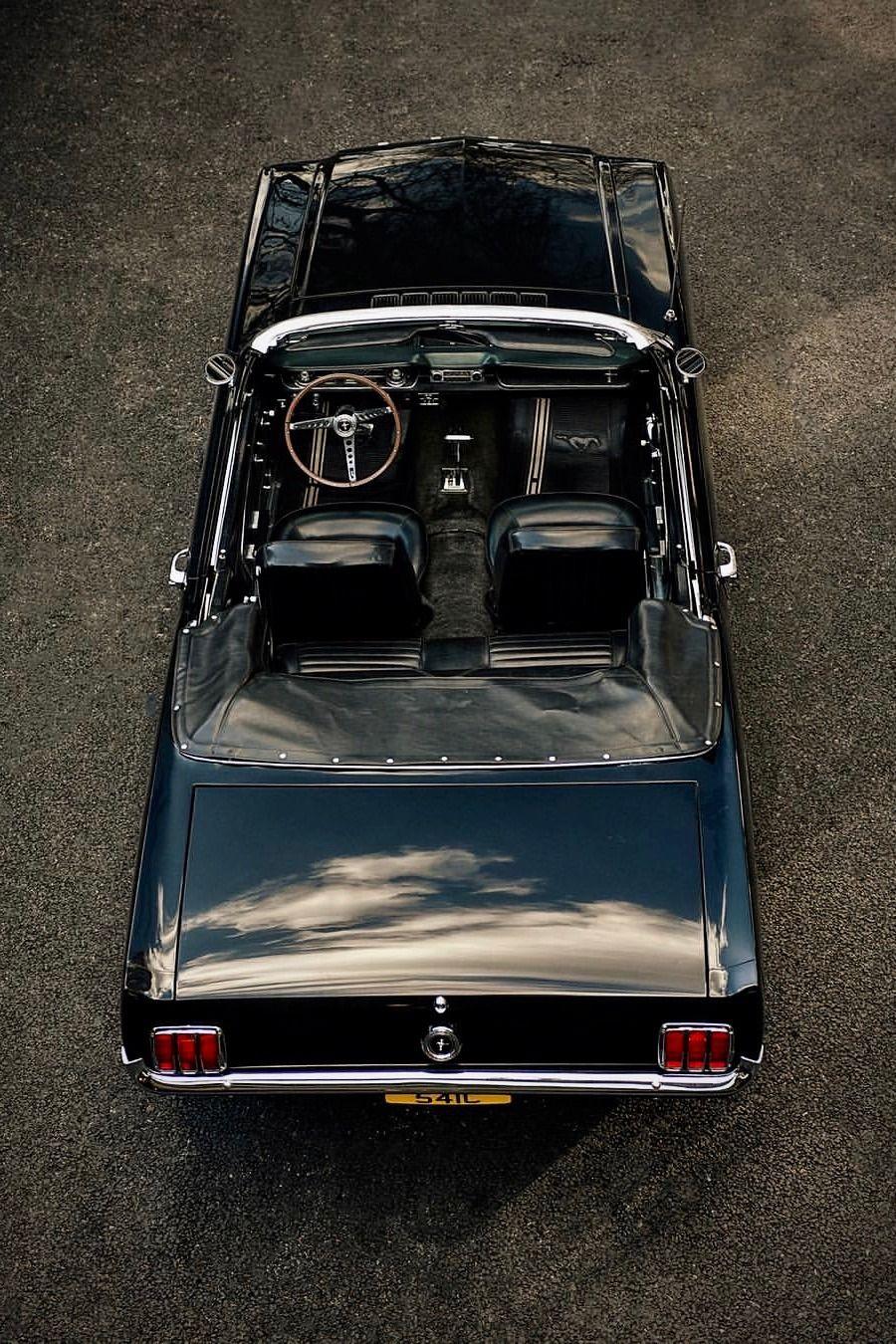 Mustang Pony Car Convertible Vintage Cars Clic Auto