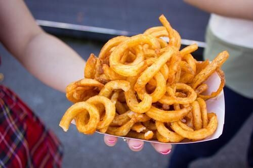 Curly frites