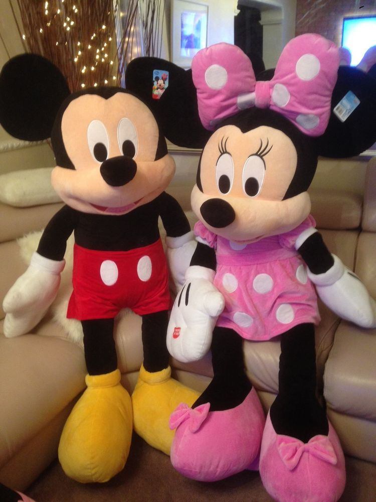 8db0453bbd35 Mickey   Minnie Mouse 63 tall with talking phrases Fantastic Christmas  Present