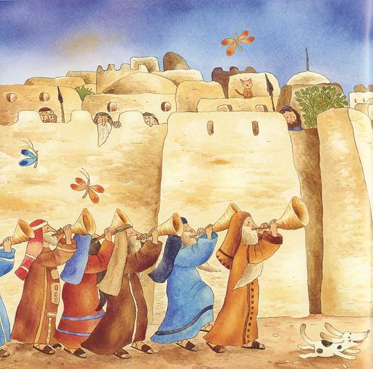 joshua and the battle of jericho craft ideas joshua and walls of jericho bible story israel 8215