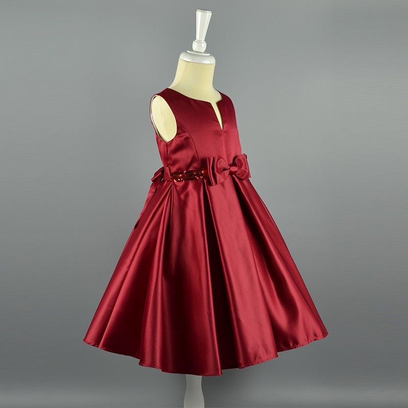 52cfd9b75e8b Wholesale Baby Girls Birthday Dresses Kids Party Wear Wedding ...