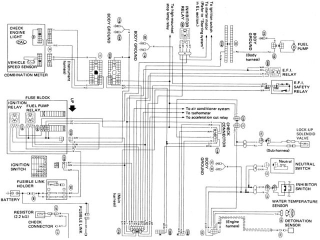 look electrical wiring diagrams daewoo lanos wiring