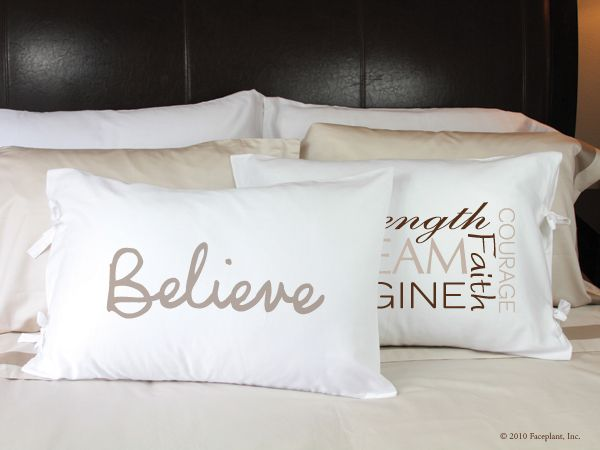 Faceplant Pillowcases Extraordinary Faceplant Dreams 60% Cotton Pillowcases Imprinted With Messages