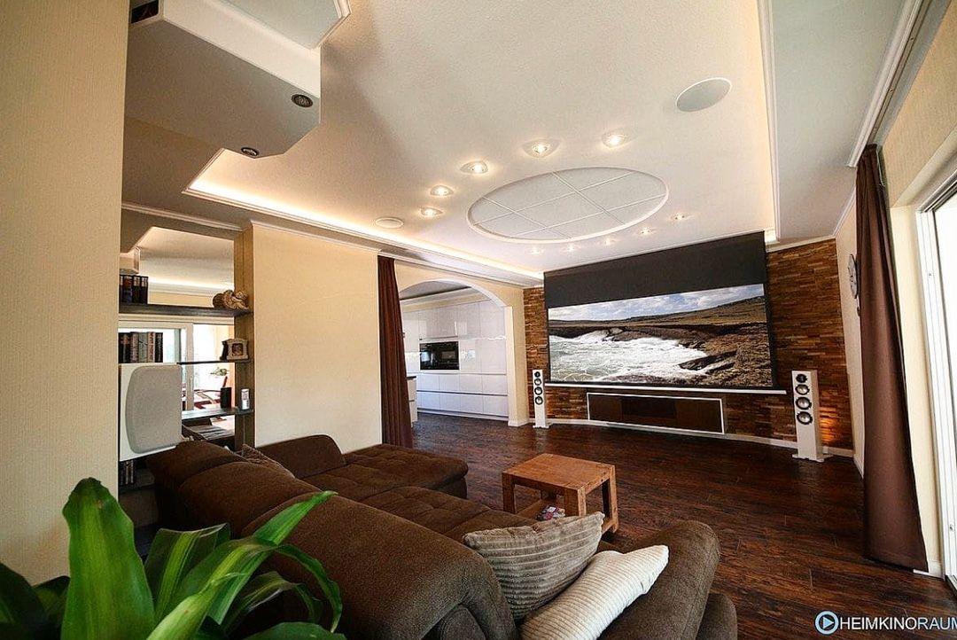 """HEIMKINORAUM on Instagram: """"Wohlfühlen mit Stil - So macht ihr euer Wohnzimmer zu einem Highlight! 🙌 • • #livingroomart #homedesignideas #modernhomes #modernlivingroom…"""""""