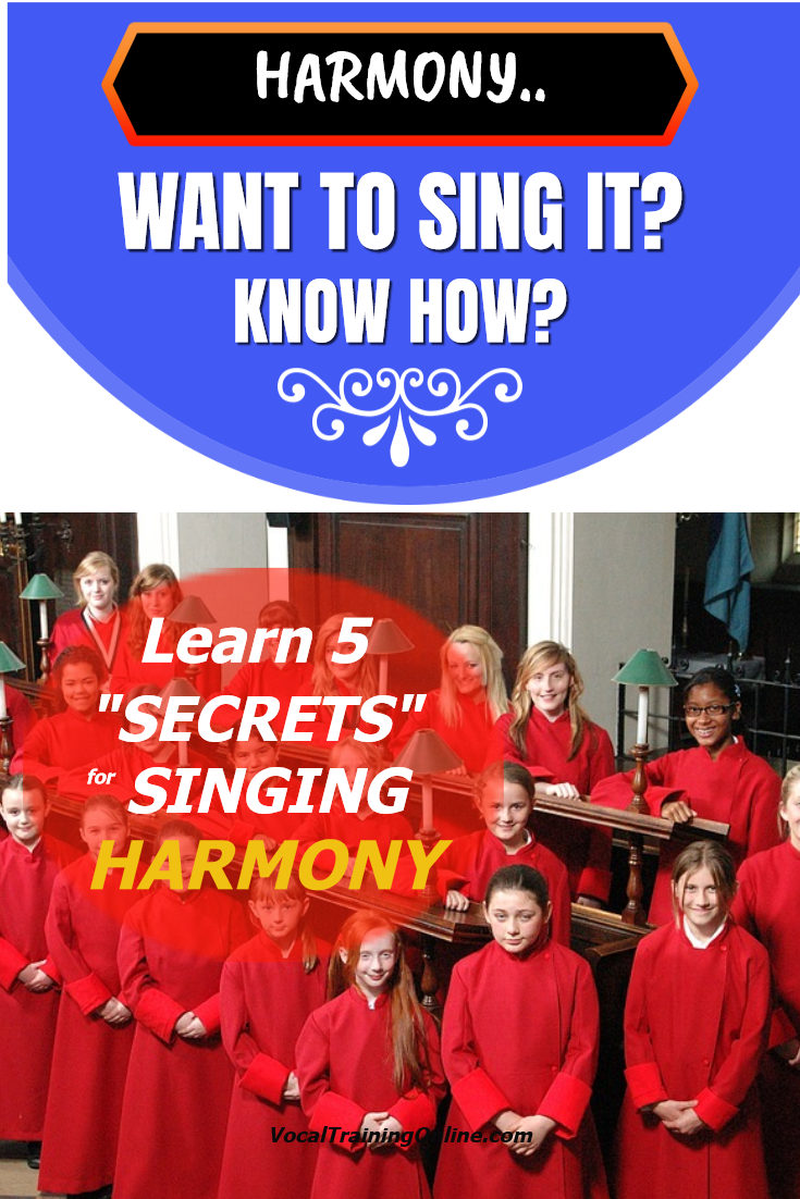 Learn How to Sing Harmony (With images) Singing tips