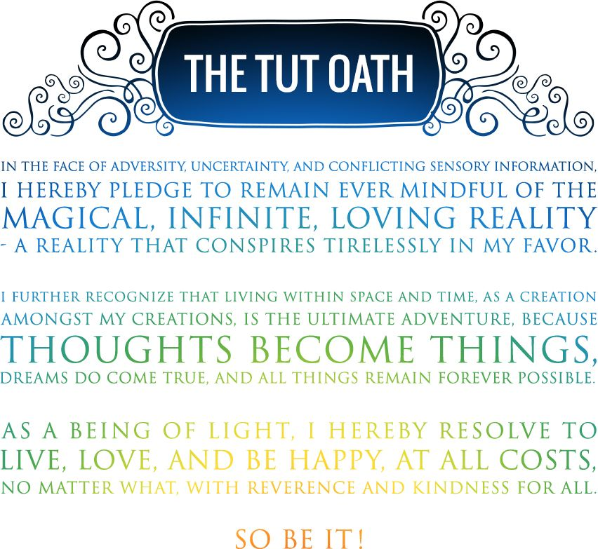 The Universe Talks Tut Oath Love Me Quotes Words Adversity