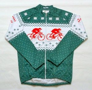 Christmas Cycling Jersey. Can I wear this to an Ugly Sweater Party for  cyclist !  P 06b7d9337