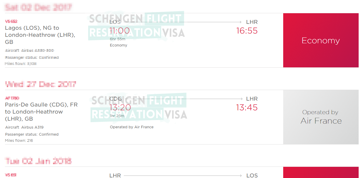 How To Verify Your Flight Reservation Or Flight Itinerary From