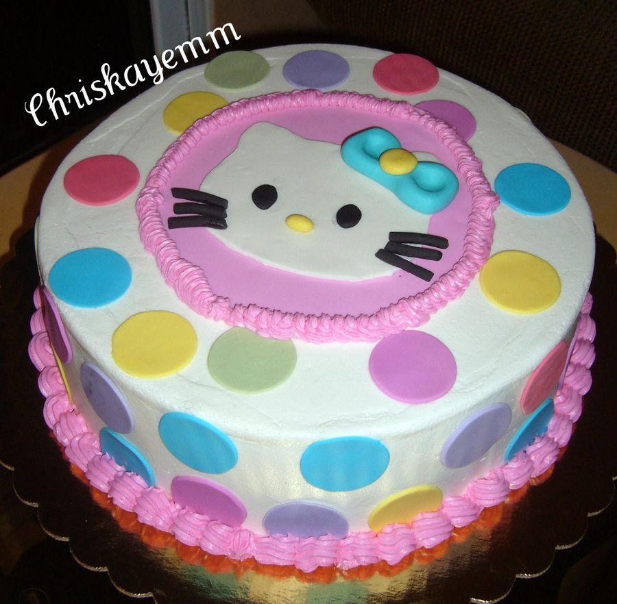 hello kitty buttercream cake Hello Kitty cake Childrens