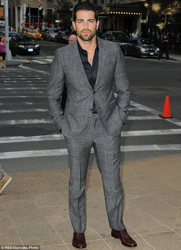 Light Grey Suit Black Shoes | Grey Suit Brown Shoes Red Tie The ...