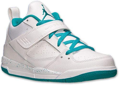 44cab48e091 Nike Girls  Preschool Jordan Flight 45 Basketball Shoes on shopstyle ...