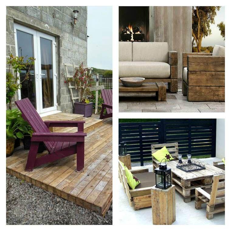 Salon de jardin palette bois: fabrication, avantages, entretien ...