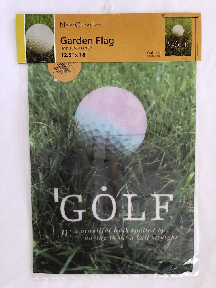 Ebay Flag Garden Golf Outdoor Lovegolf Gift Golf Garden Flag