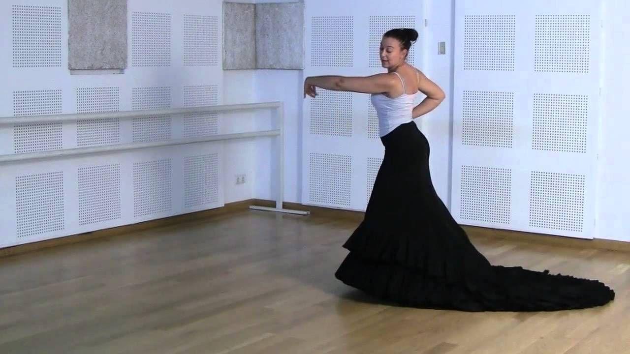 Técnica básica de bata de cola: Ejercicio 1 con brazos
