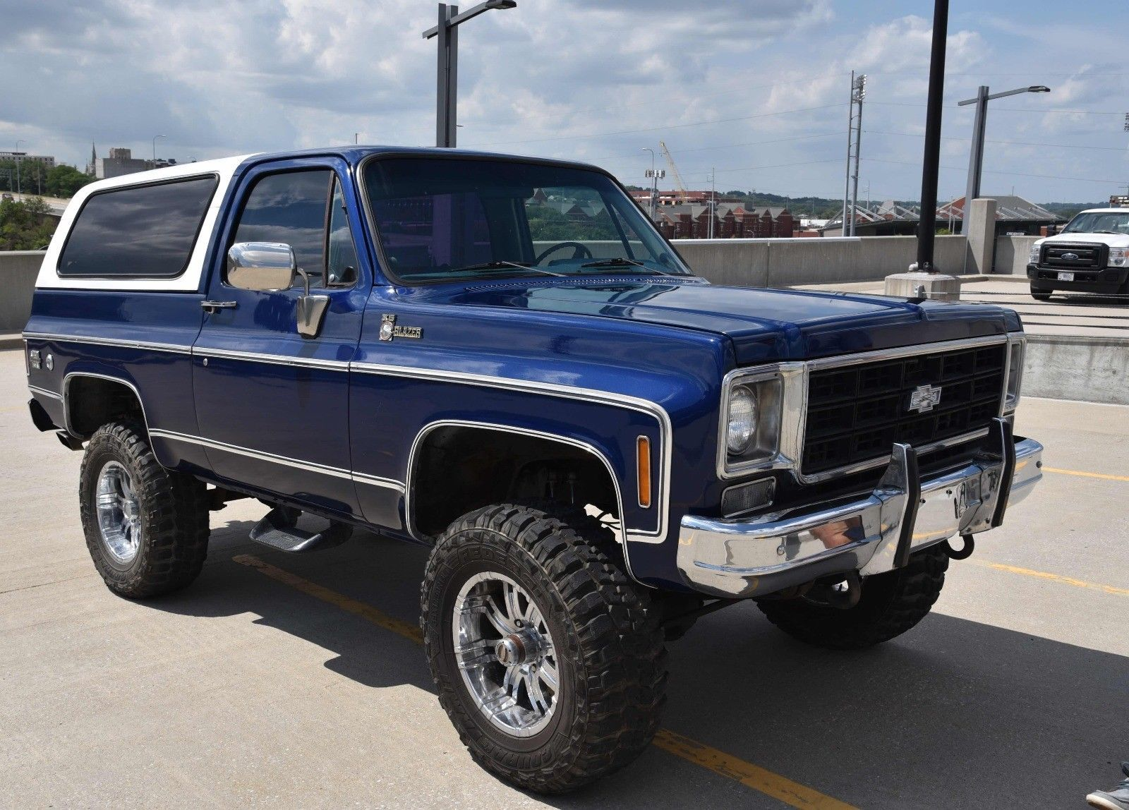lifted 1977 Chevrolet Blazer Cheyenne offroad