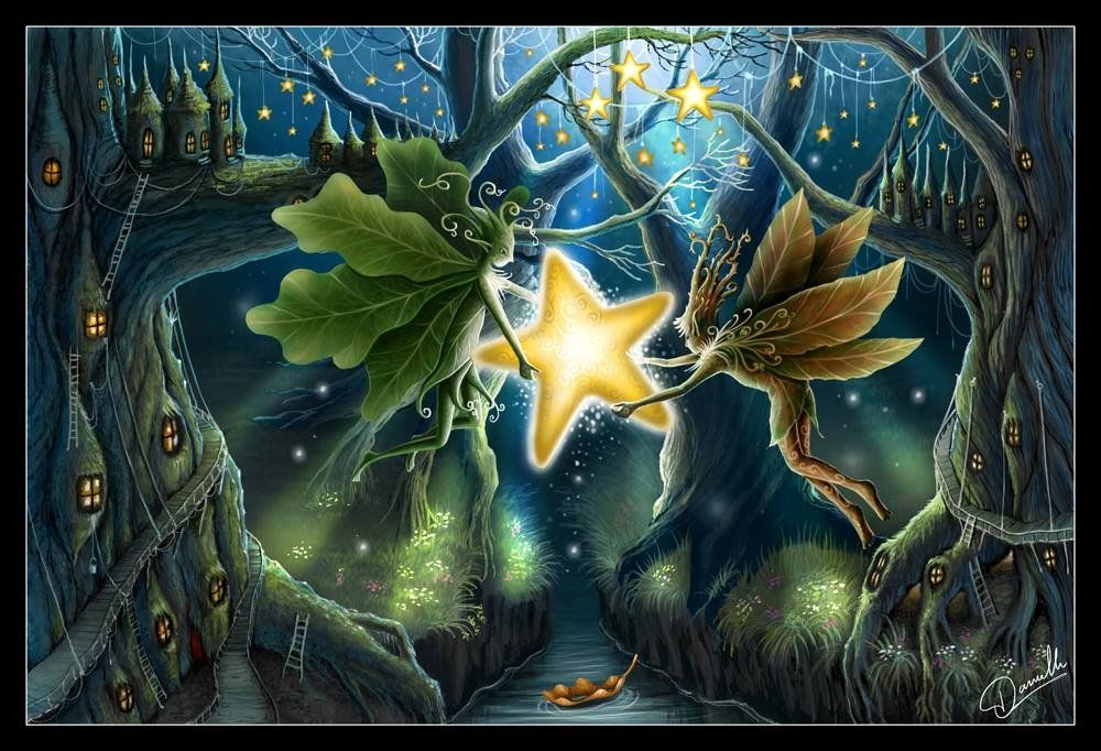 Enchanted Forest by Danielle (With images) Fairytale art
