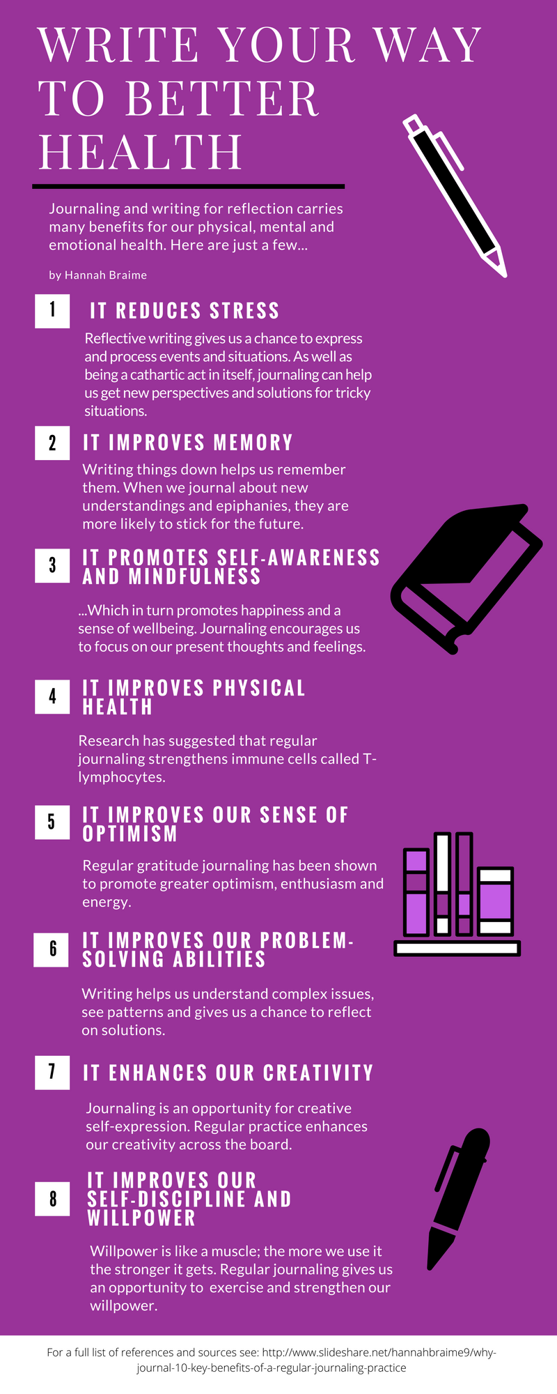 Regular writing is good for more than just clearing your head Click the image to discover the 8 surprising benefits of writing your way to better health