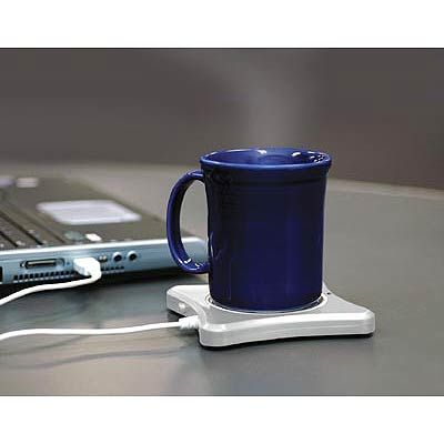 Keep Your Coffee Warm All Morning Long With This Usb Cup Warmer Usb Design Usb Gadgets