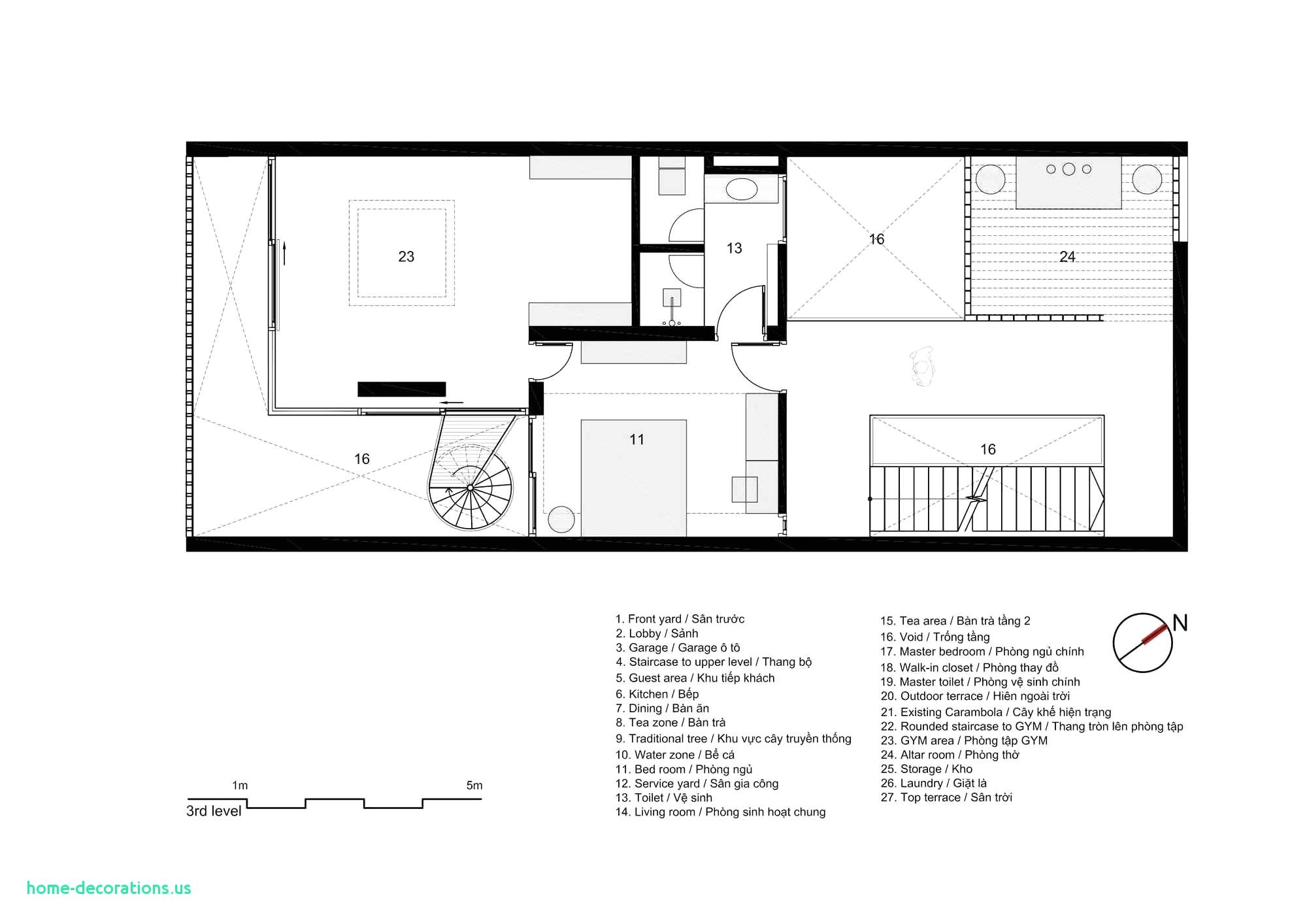 Awesome Residential Floor Plan With Dimensions