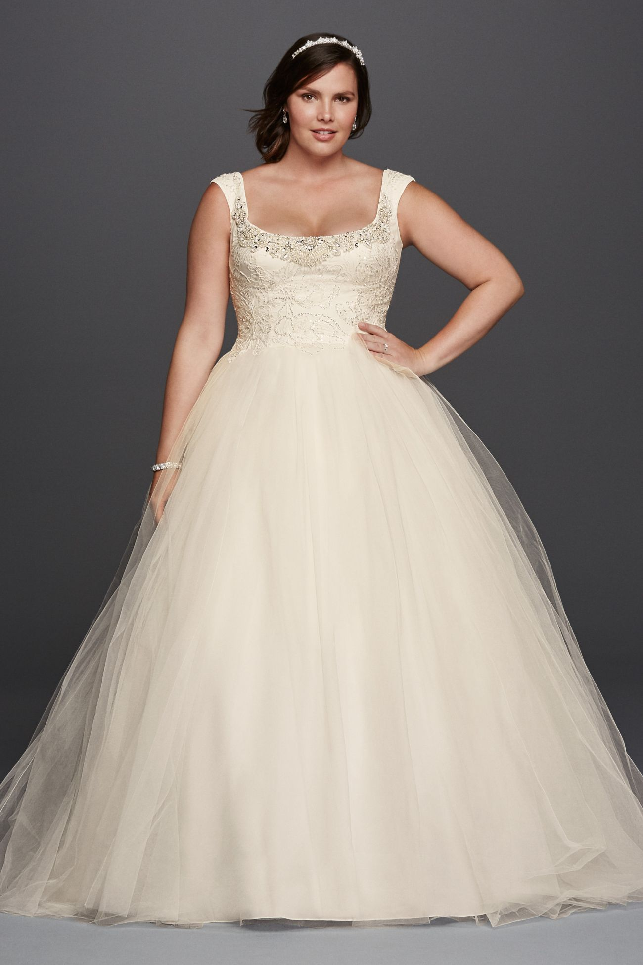 My New Favorite Www Davidsbridal Com 10539444 Davids Bridal Wedding Dresses Bridal Gowns Wedding Dresses Plus Size