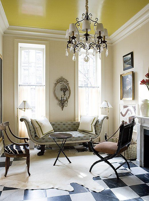 8 Designer Ideas For The Perfect Painted Ceiling Colored Ceiling