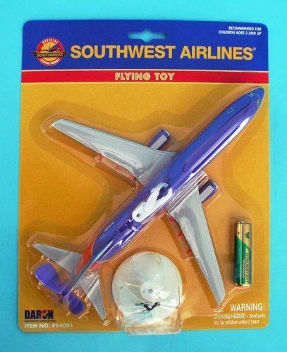 Cool Toys That Fly : Daron toys southwest flying toy airplane by