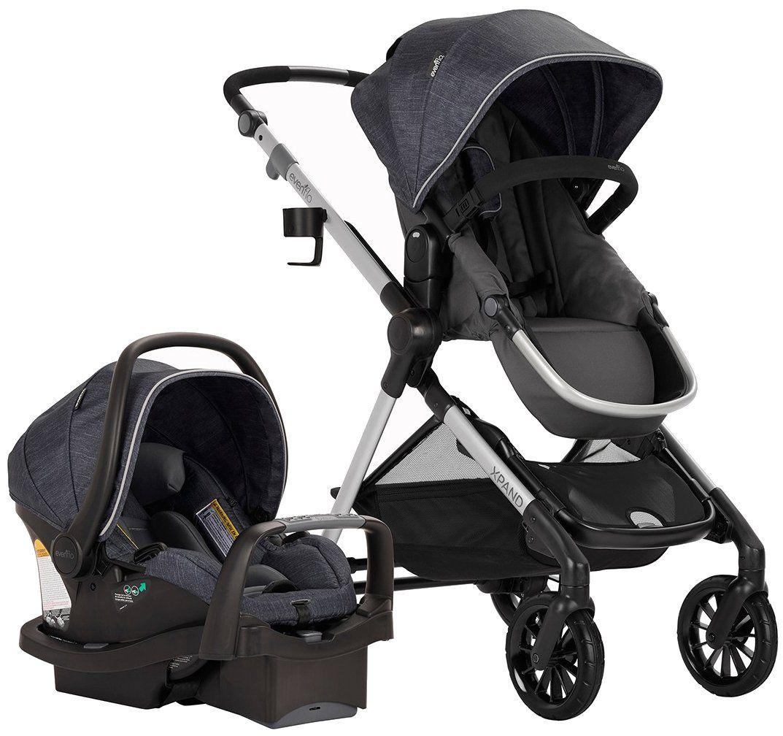 Evenflo Pivot Xpand Tandem Stroller with SafeMax (Stallion