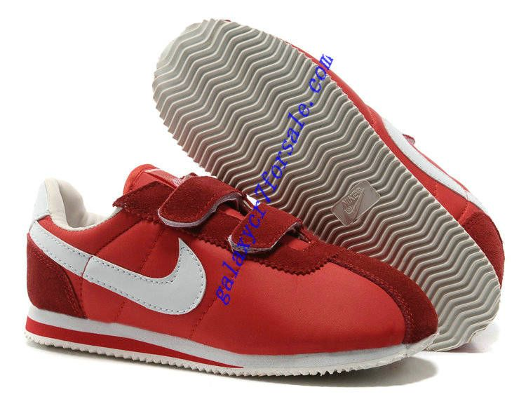 new styles 98d80 be647 ... shop nike classic cortez nylon kids white light scarlet red shoes nike  classic cortez nike cortez
