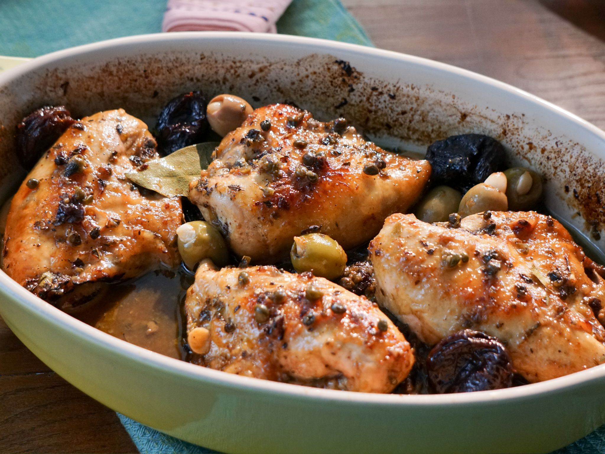 Chicken with prunes and olives recipe valerie bertinelli chicken with prunes and olives recipe valerie bertinelli recipes and food forumfinder Images