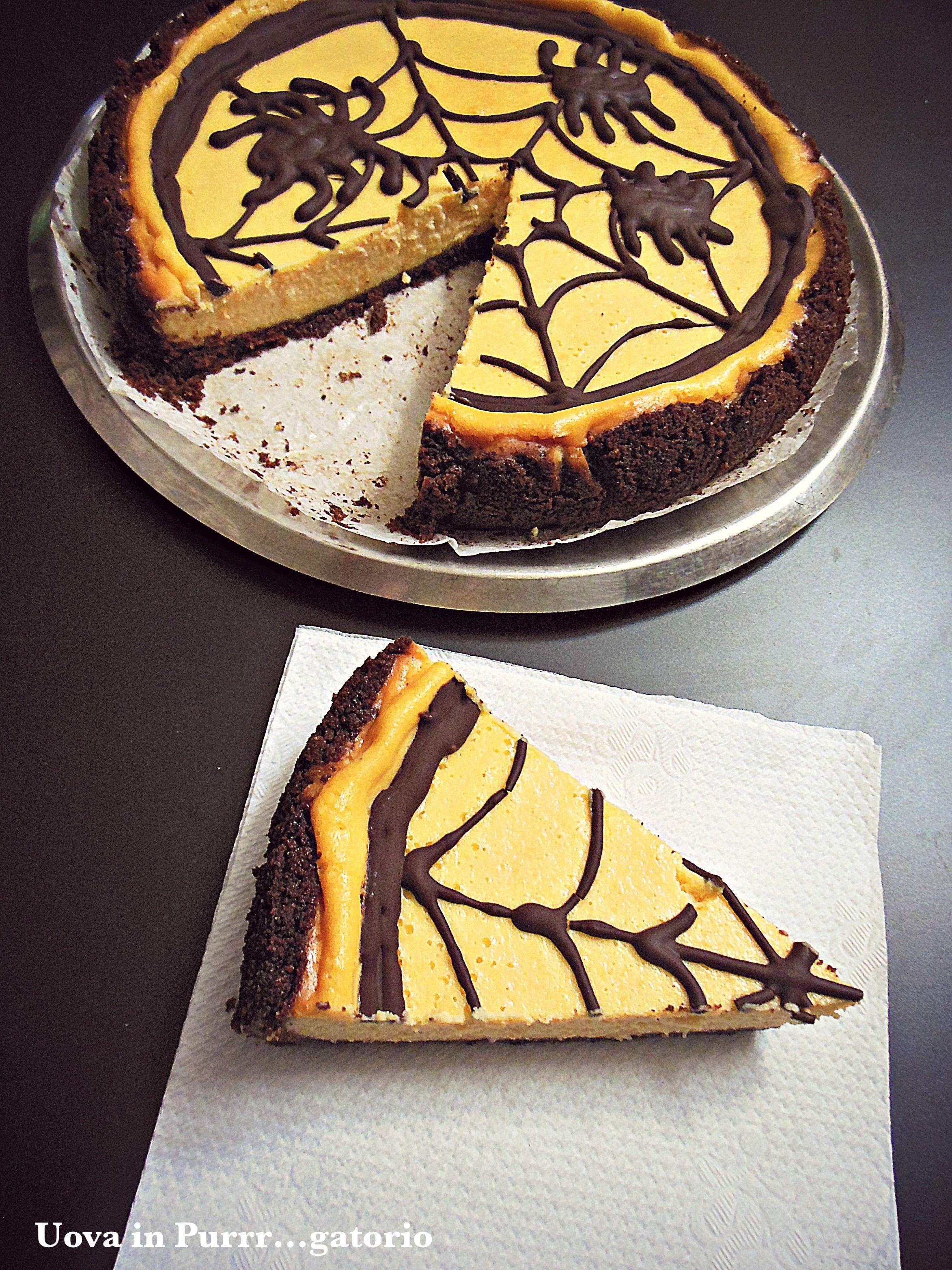 cheesecake di Halloween