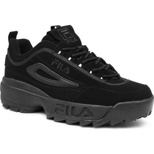Men's Fila Disruptor II Triple Black by Fila in 2019