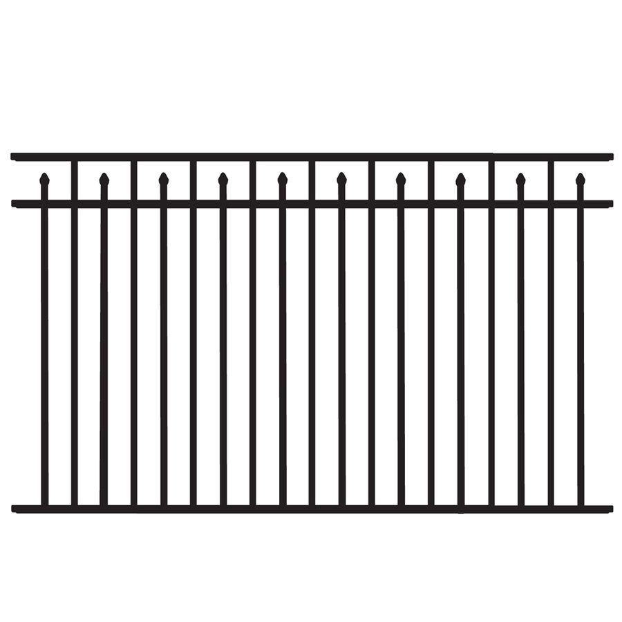 Garden Decor Fence Shop Freedom Black Aluminum Fence