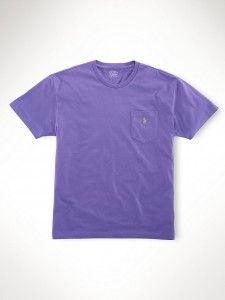 Camiseta Ralph Lauren Lilas RL3022