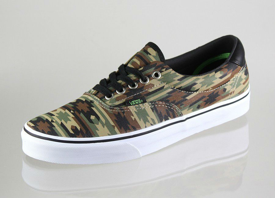 Vans Era 59 Native Camo My lil bro would love these! febcf0aa7804
