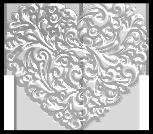 Шаблоны сердечек для вырезания Раскраски распечатать