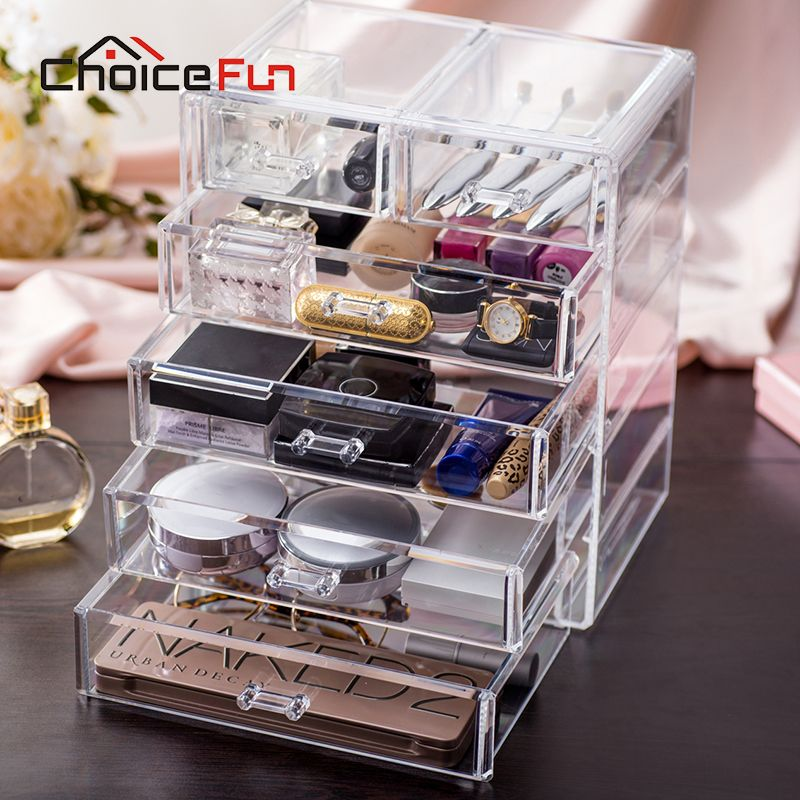Acrylic Makeup Organizer Target Alluring Aliexpress  Buy Choicefun Best Selling Large Jewelry Box 5 Design Decoration
