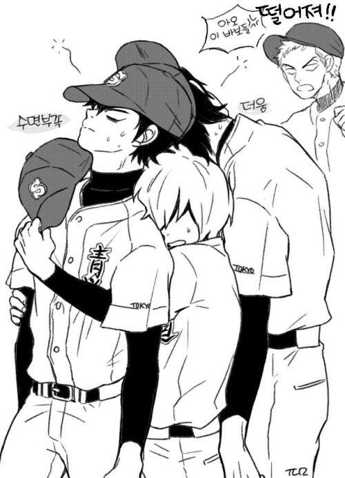 Lol Poor Kanemaru #ダイヤのA / #daiyanoa