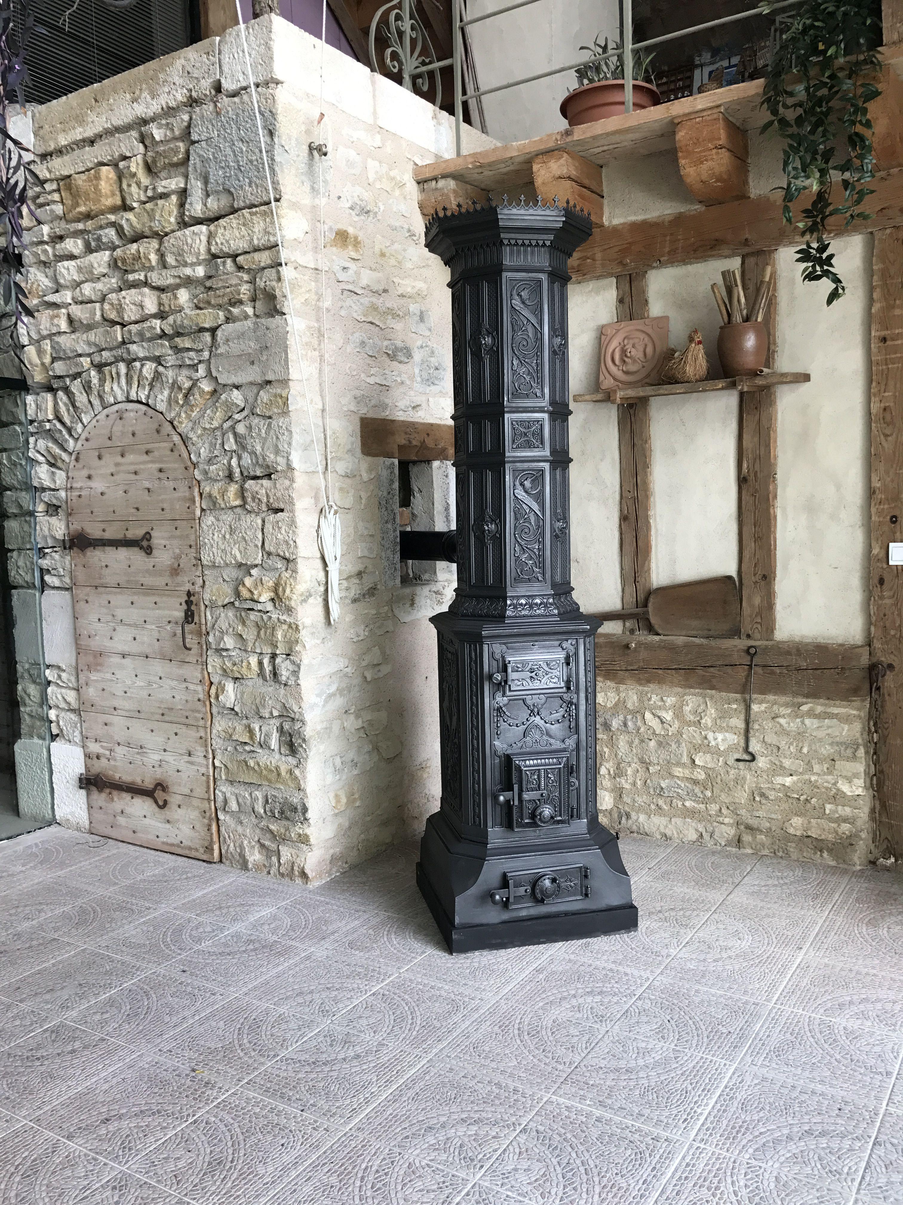 antiker s ulenofen in einem historischen umfeld rewstauriert aufgebaut und angeschlossen von. Black Bedroom Furniture Sets. Home Design Ideas