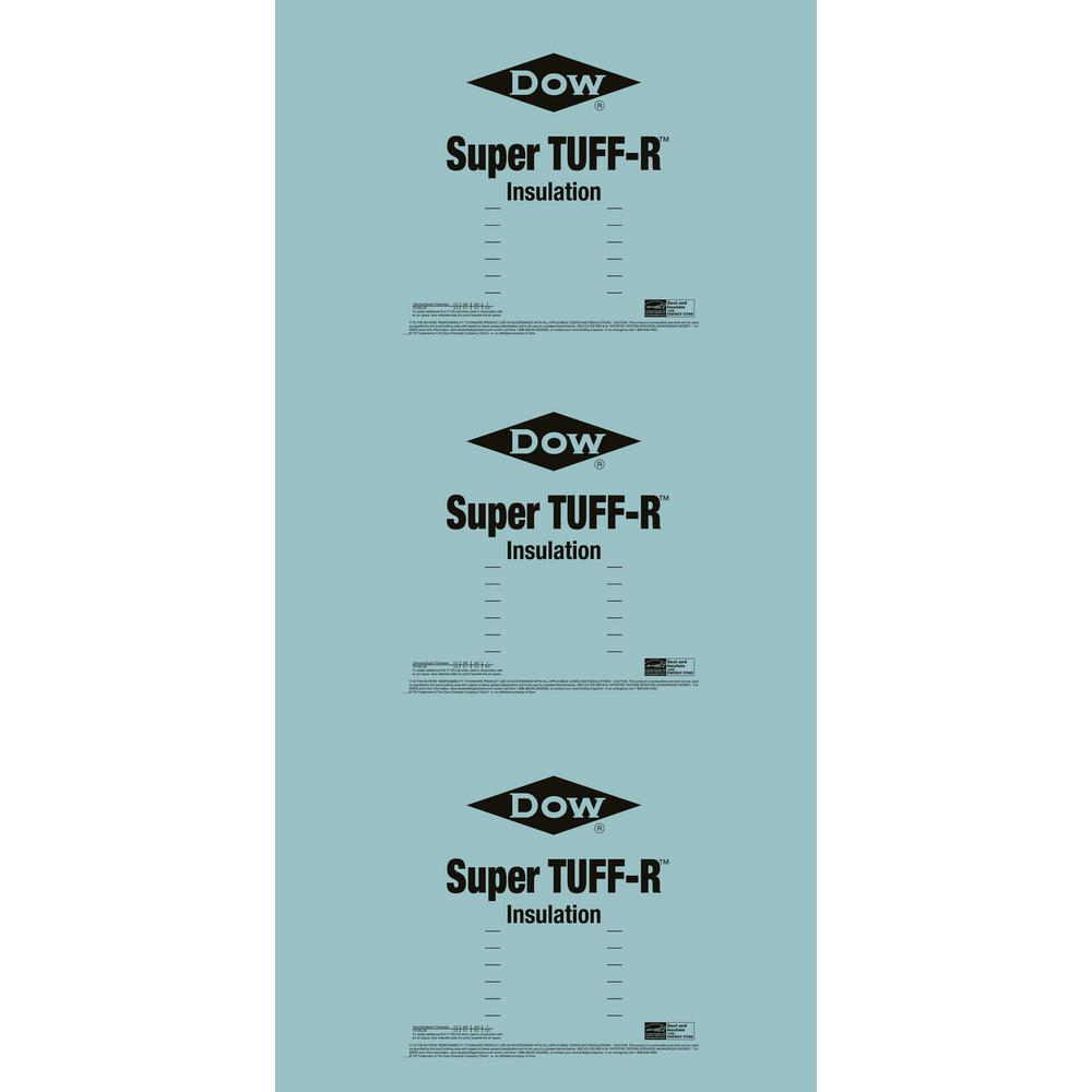 Super Tuff R 2 In X 4 Ft X 8 Ft R 13 Insulating Sheathing 99060464 The Home Depot Sheathing Foam Insulation Insulation