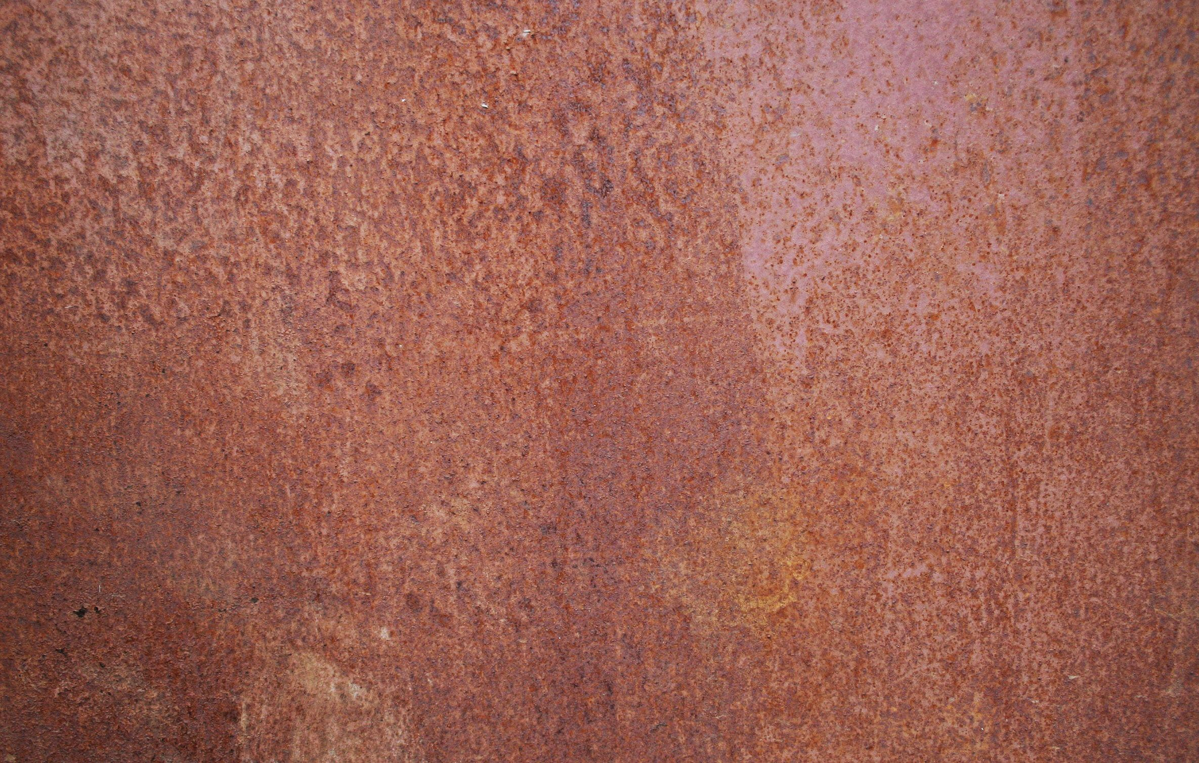 Rusted steel texture