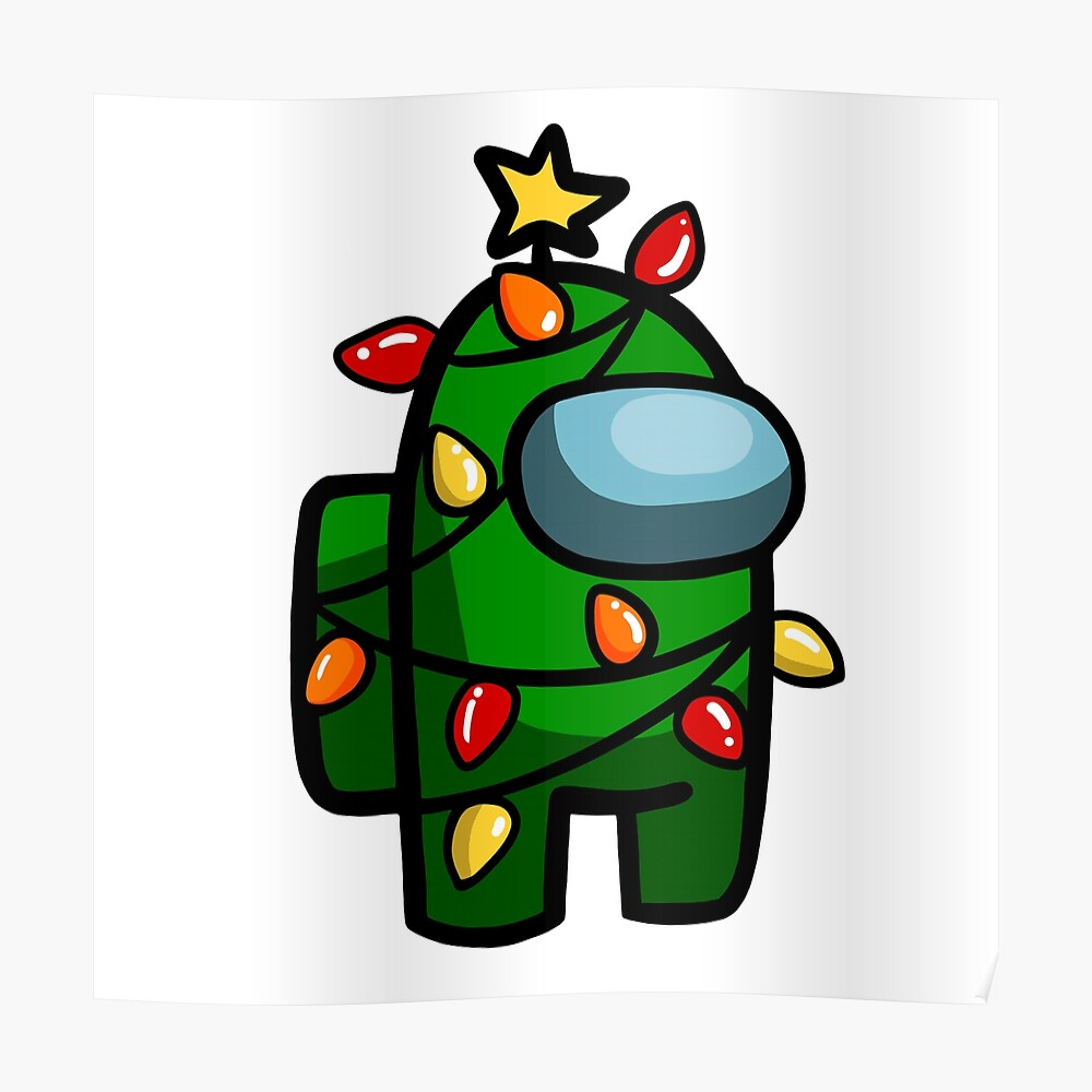 Cute Among Us Christmas Tree Holiday Xmas Sticker By Ichewsyou Redbubble In 2021 Cute Patterns Wallpaper Funny Phone Wallpaper Wallpaper Iphone Cute