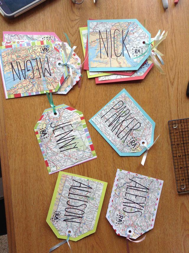 Luggage Map Door Decs Door Decs Classroom Themes