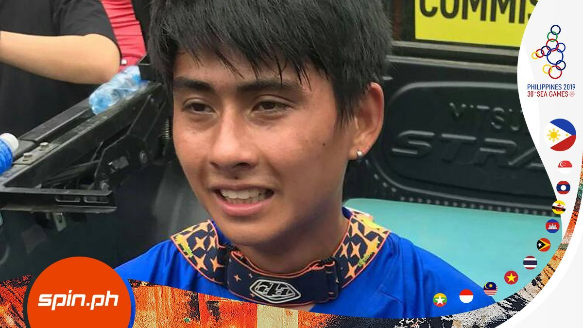 John Derick Farr Completes Pinoys Sweep Of Sea Games Mtb Downhill Mtb Mountain Biking Games