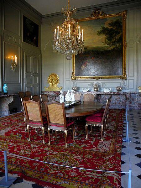 Champs-sur-Marne (77) Château Salle à manger Château de Champs sur