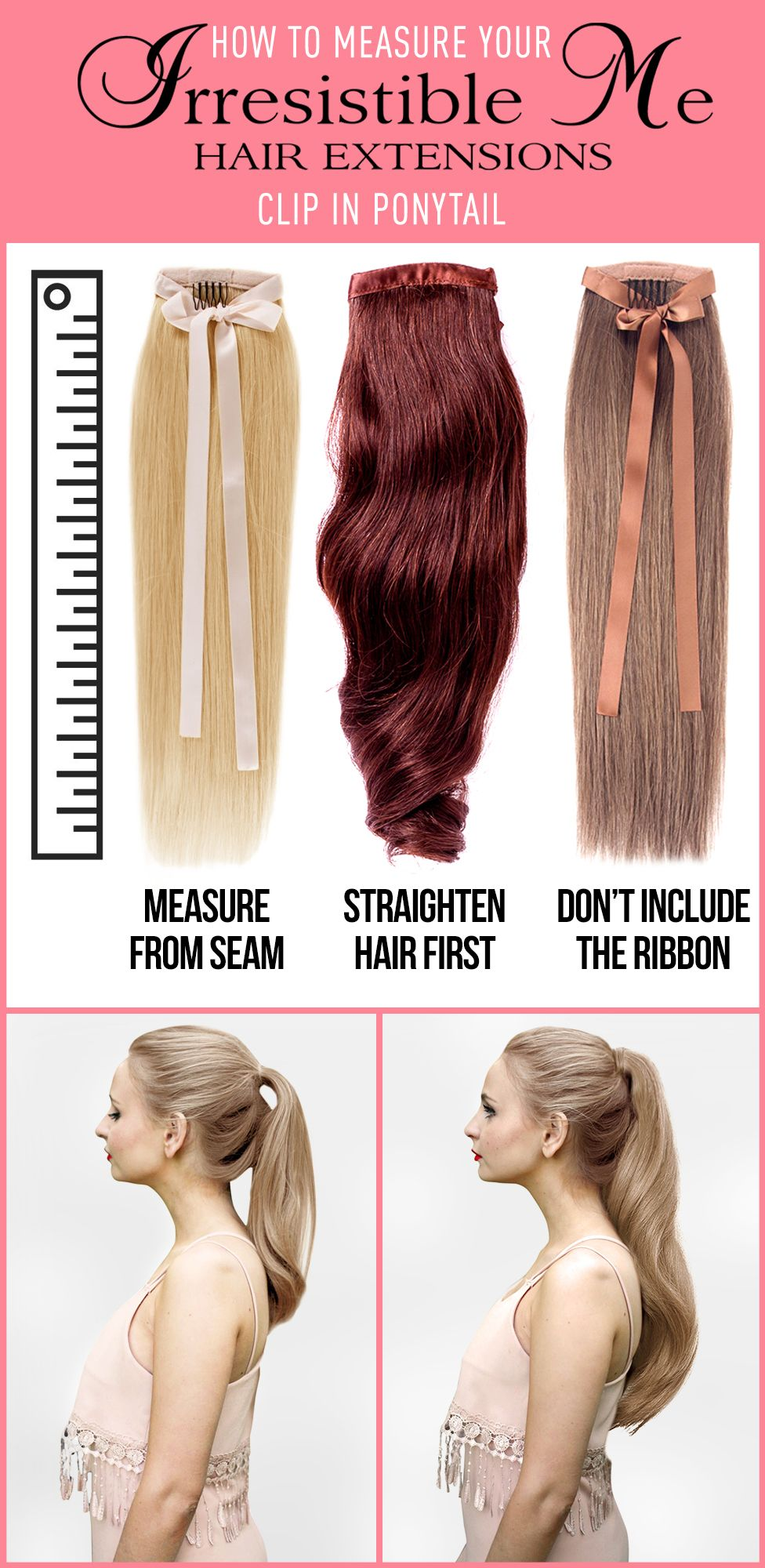 Check Out The Best Human Remy Hair Extensions Ponytail Extensions