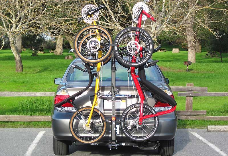 Truckee Switch Hitch Rack For Recumbent Tadpole Trikes And Upright Bikes Truckee Switch Bike And Trike Rack Fits 1 1 4 And Hitch Rack Recumbent Bicycle Trike