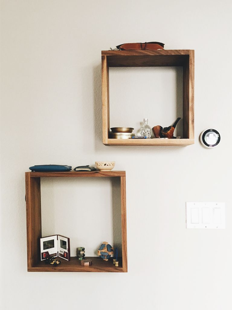 How To Boost Your Room With Simple Diy Square Shelves Square
