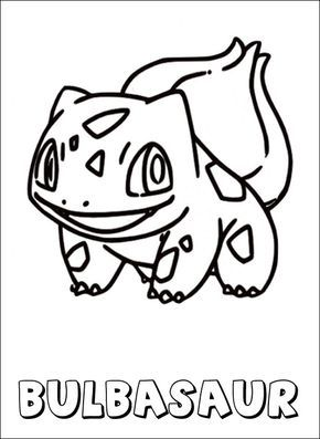 Pokemon coloring page Bulbasaur Coloring pages POKEMON